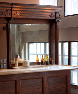 Copperworks tasting bar